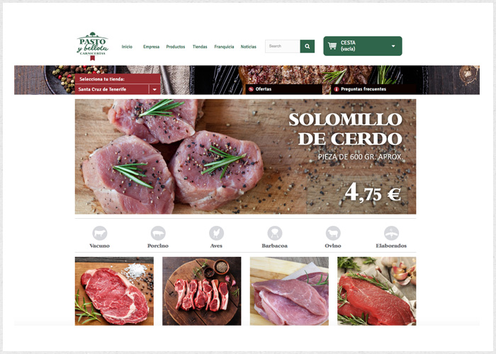 Tienda Pasto y Bellota